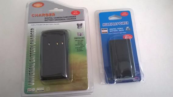 Bateria Filmadora Panasonic, Sony, Jvc, Canon Nikon Olympus
