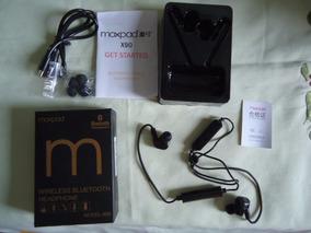Fone Bluetooth 4.1 Moxpad V90 Dual Battery Com Guia Vocal