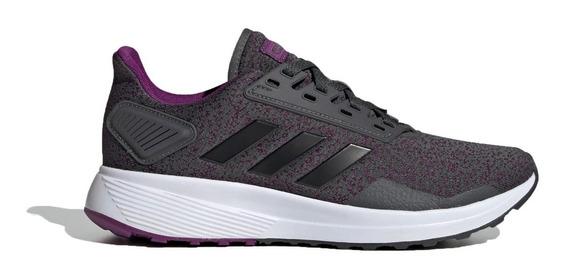 adidas Zapatillas Running Mujer Duramo 9 Violeta - Gris