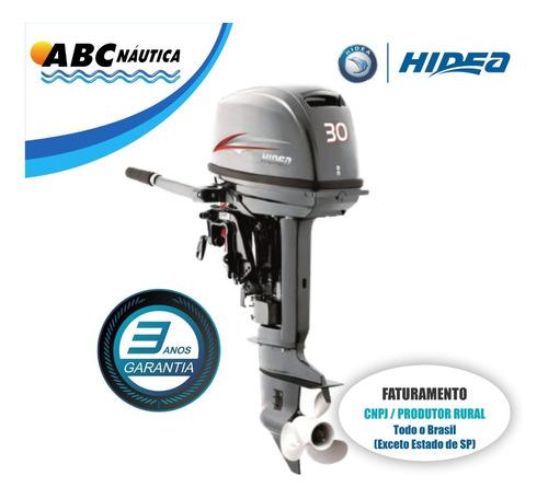 Motor De Popa 30hp Elétrico Hidea Leia Anúncio