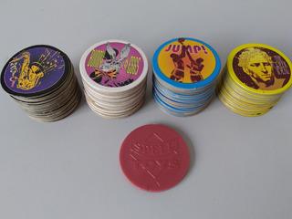 Coleção De Tazos Spell Toys + Master Tazo