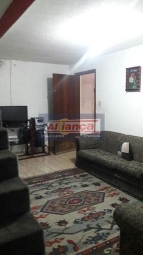 Sobrado Residencial À Venda, Jardim Presidente Dutra, Guarulhos - So0178. - Ai743