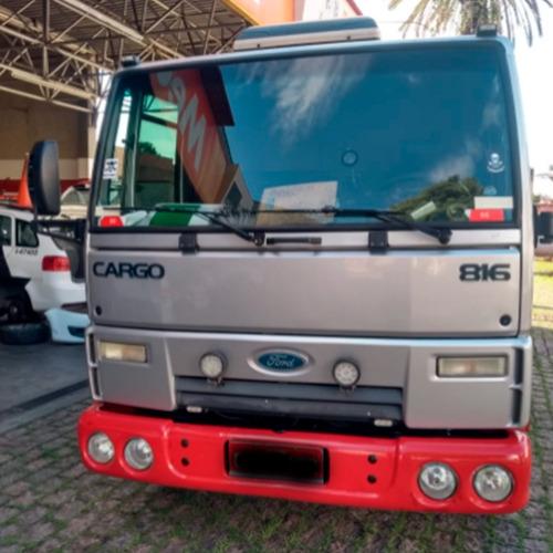 Imagem 1 de 7 de Caminhão Ford Cargo 816r 2014 - Guincho