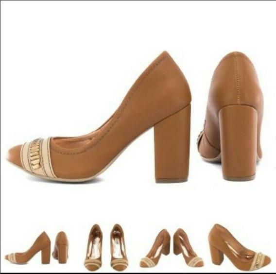 Sapato Torricella Caramelo - Tamanho 34