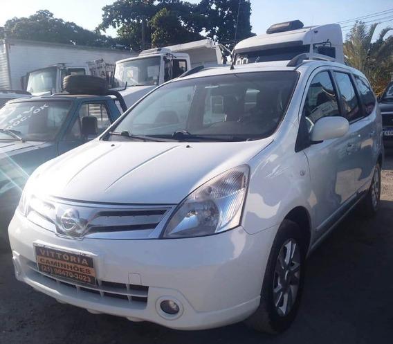 Carro Nissan Gra Livina Sl 1.8 Ano 2013 - 7 Lugares