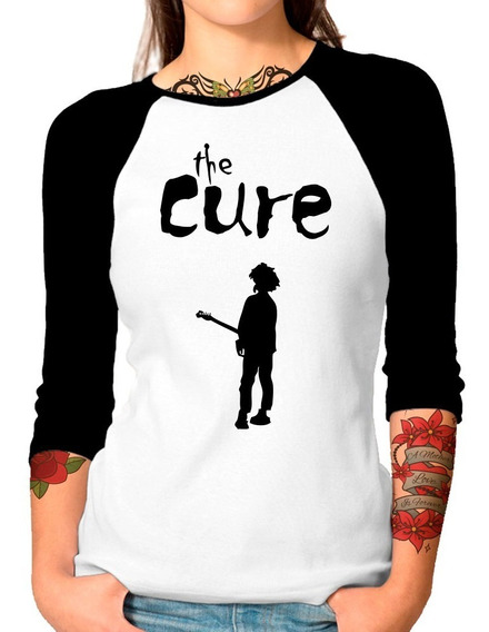 Envío Gratis Playera Raglan Dama The Cure Boy Don