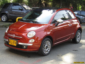 Fiat 500 Lounge At 1400cc 3p Mex