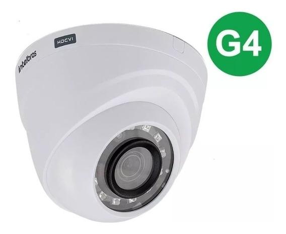 3x Câmera Intelbras 720p 20mt Multi Hd Vhd 1120d G4 2,6mm