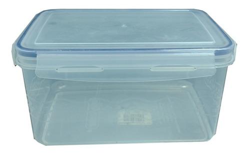 Envase Plástico Para Alimentos Cierre Hermético 2.3 Ltrs.