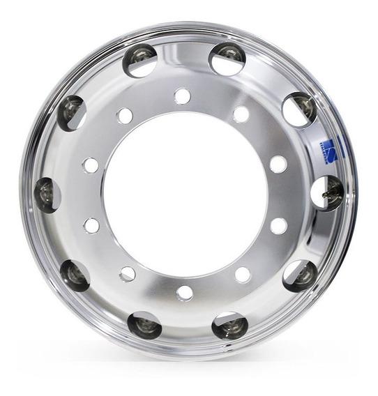 8 Roda D Alumínio Pneu 285 Speedline 22,5x8,25 10f Redondo