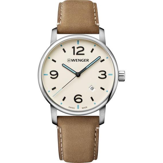 Relógio Wenger Urban Metropolitan Marrom 01.1741.120 C/ N F