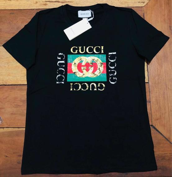 Camiseta Gucci Classic Logo