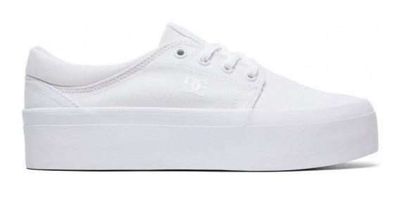 Zapatillas Trase Platform De Dc Shoes 100% Originales 35-40