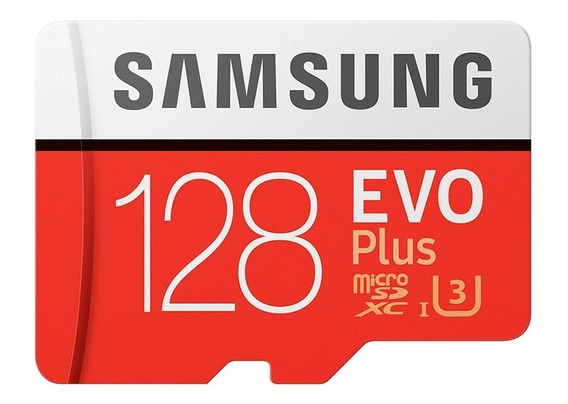Samsung Evo Plus Micro Sdxc C10 U3 100mb/s 667x 4k 128gb