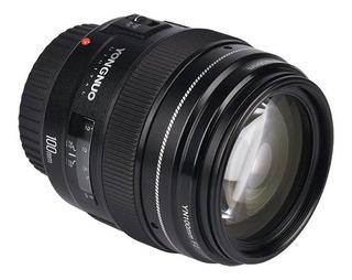 Lente Yongnuo Yn-100mm F2 Ef Para Canon