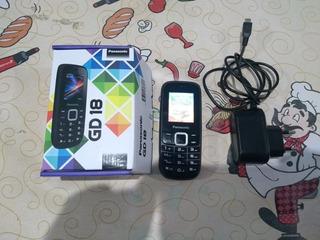 Celular Dual Chip Simples Com Lanterna Panasonic Gd18