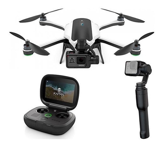 Drone Gopro Karma Completo Com Hero 6 Black 2 Baterias