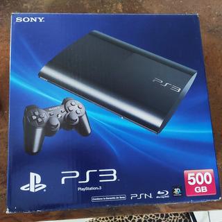 Playstation 3 Super Slim 500gb Con 3 Juegos, Impecable