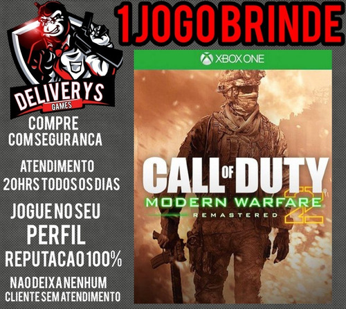 Call Of Duty Mw 2 Remastered Xbox One Midia Digital + Brinde
