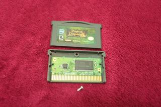 Pirates Of The Caribbean Original Nintendo Game Boy Advance