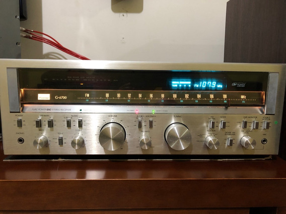 Sansui Pure Power Stereo Receiver G6700