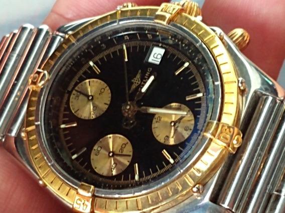 Relógio Breitling Chronomat Aço/ouro