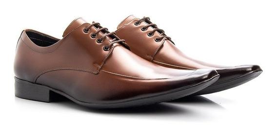 Sapato Masculino Em Couro Legítimo Social Gala Fino Conforto
