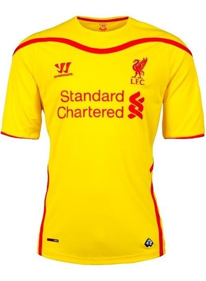 Camiseta Del Liverpool F C (alternativa 2014-2015) Talle L