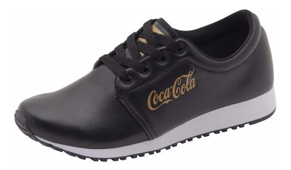 Coca Cola Feminino Sense Caminhada Academia Casual Barato