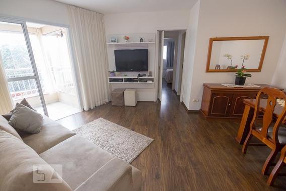 Apartamento No 1º Andar Mobiliado Com 2 Dormitórios E 2 Garagens - Id: 892990998 - 290998