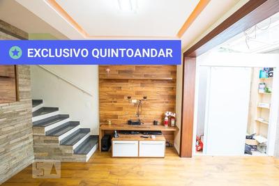 Casa Em Condomínio Com 2 Dormitórios E 2 Garagens - Id: 892886099 - 186099