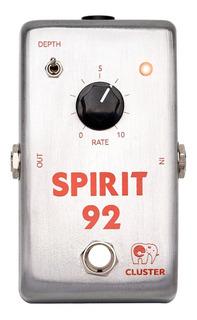 Pedal Cluster Spirit-92 Chorus Analógico Para Guitarra Bajo