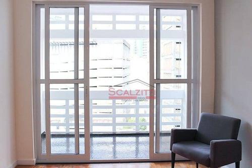 Studio Com 1 Dormitório À Venda, 35 M² Por R$ 370.000,00 - Consolação - São Paulo/sp - St0337