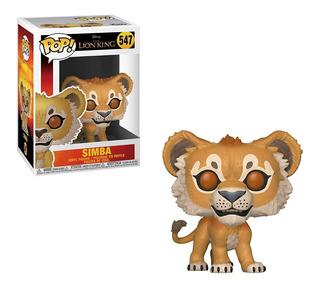 Muñeco Funko Pop Simba 547 Rey Leon Disney Original