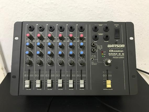 Mesa Wattsom Mxm 6 S - Audio Mixer - 6 Canais