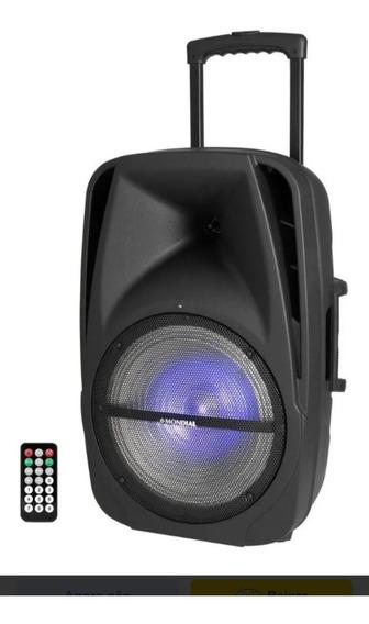 caixa De Som Amplificada Mondial 400w Cm-14