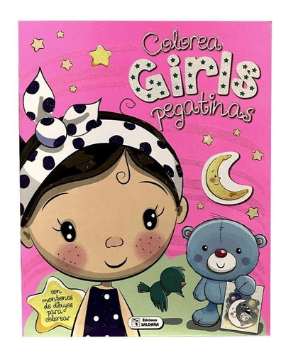 Libro Colorear Pintar Corazon Luna Cad133 Educando