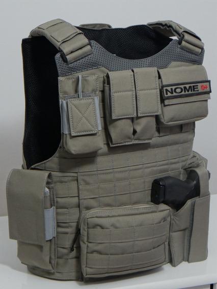 Colete Modular Cor Cinza Brigada R.s. Completo Ii - Bordado