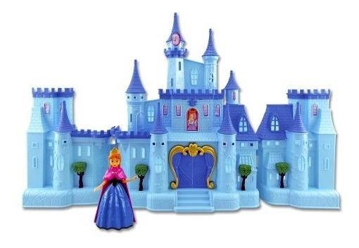 Castillo Simil Frozen Princesas Con Luz/sonido Y Acc. Cuotas