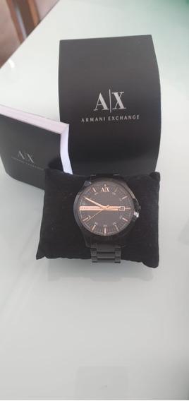 Relógio Armani Exchange Ax2150 - Aço Masculino - Preto