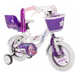 Bicicleta Raleigh Rodado 12 Nena Aluminio Full. Bike Shop