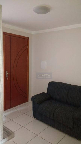 Apartamento 48m2 2 Dormitórios E 1 Vaga Coberta À Venda, Guaianazes, São Paulo. - Ap18199