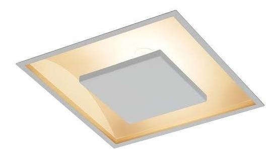 Kit 2 Luminaria Embutido Luz Indireta Sala/quarto 30x30
