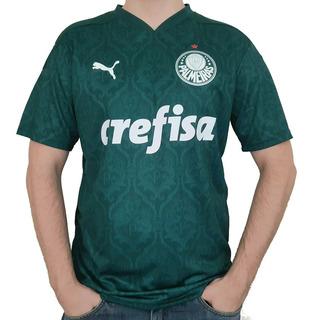 Camisa Puma Oficial Palmeiras Home 2020/2021
