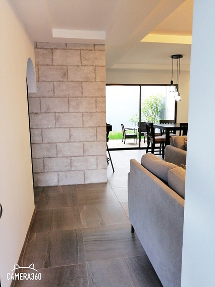 250ja Preciosa Casa De Dos Planta En Condominio Muy Seguro