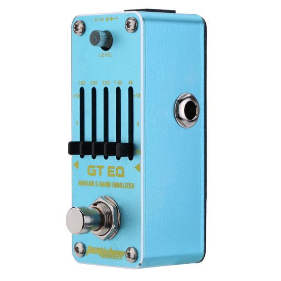 Aroma Aeg-3 Gt Eq Anal??gico Equalizador De 5 Bandas Guitarr