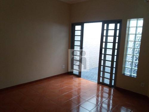 Imagem 1 de 11 de Casa Com 2 Dormitórios À Venda, 104 M² Por R$ 318.000,00 - Vila Tibério - Ribeirão Preto/sp - Ca0658