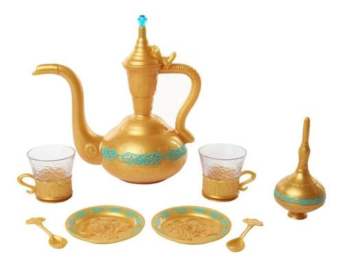 Brinquedo Jogo De Chá 9 Peças Aladdin Disney Mimo 6356