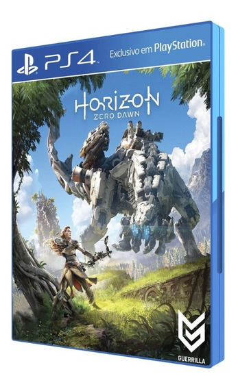Game Horizon Zero Dawn Para Ps4 - Lacrado