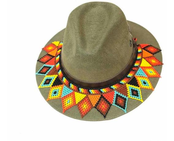 Toquillas Para Sombrero Tejidos En Chaquira